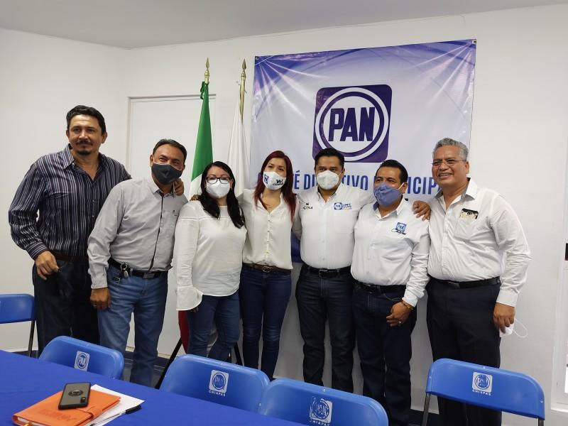 Acción Nacional acuerpa candidatura de Willy Ochoa en Tuxtla