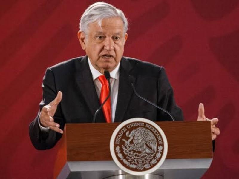 Acepta AMLO renuncia de González Blanco,
