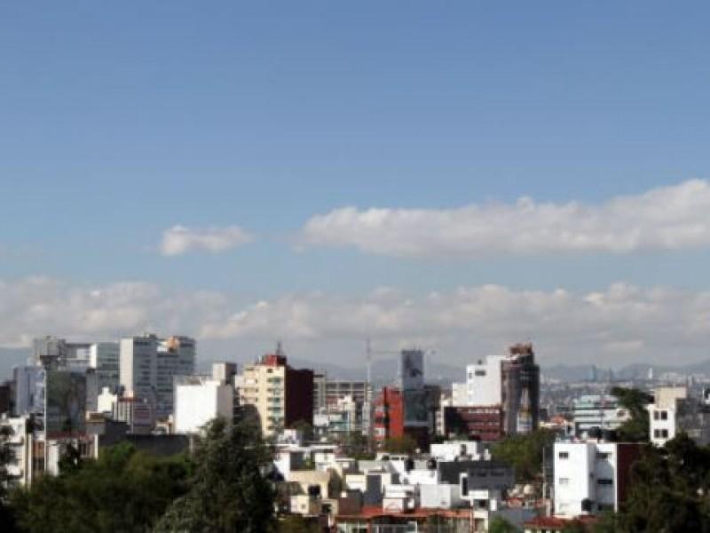 Aceptable calidad del aire en Valle de México