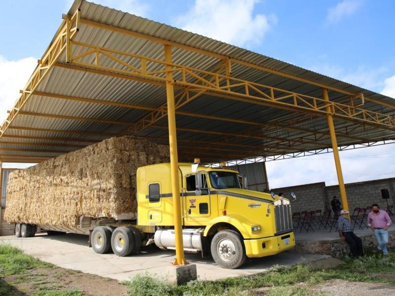 Acerca SEDEA apoyos para productores de Tolimán