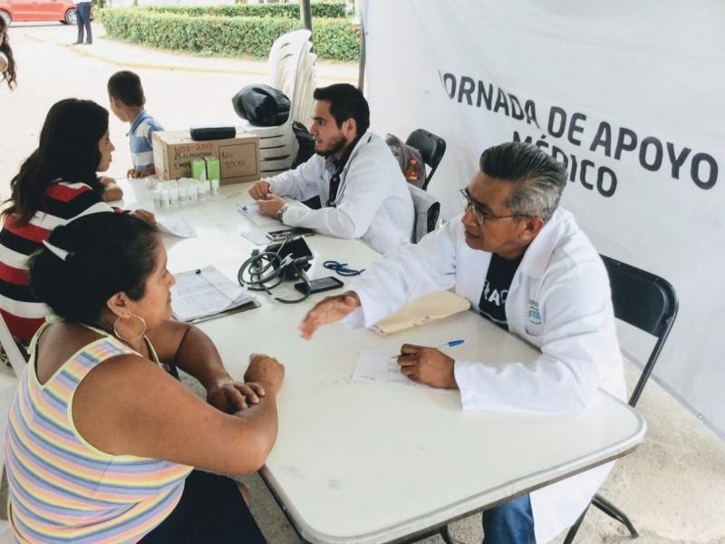 Acercan servicios de salud a población