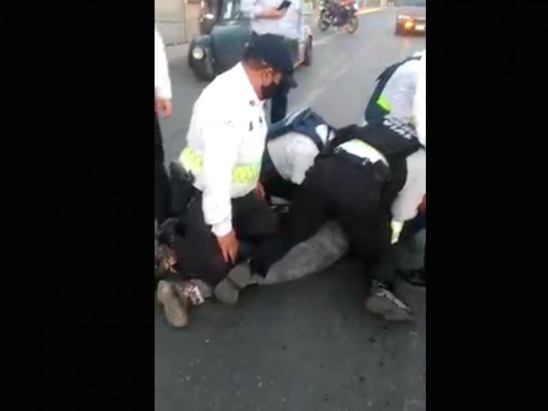 Aclara SSP detención violenta de ciudadano