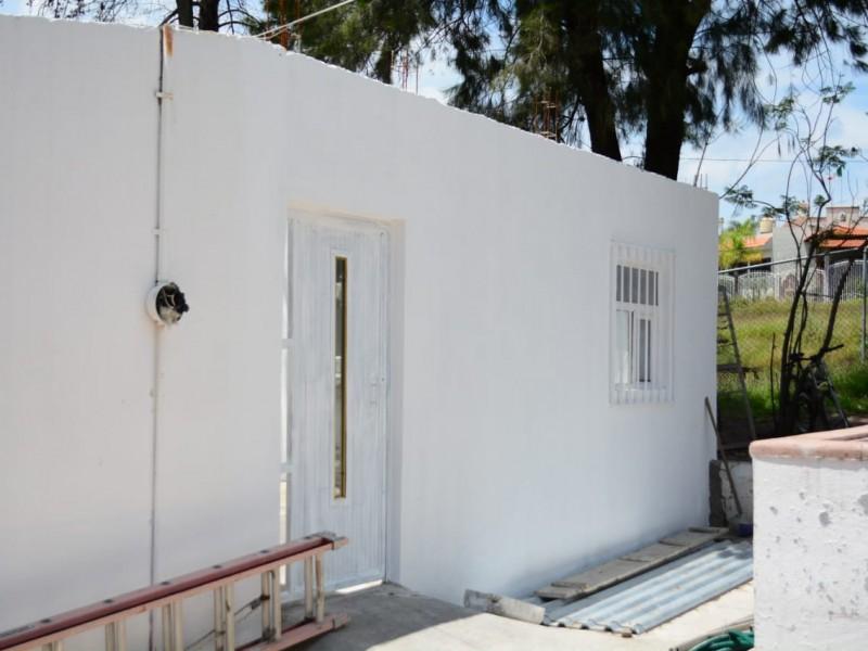 Acondicionan baños y construyen bodega en panteón municipal
