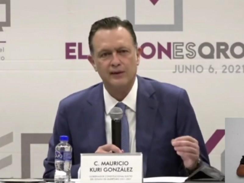 Acreditan a Mauricio Kuri como próximo gobernador de Querétaro