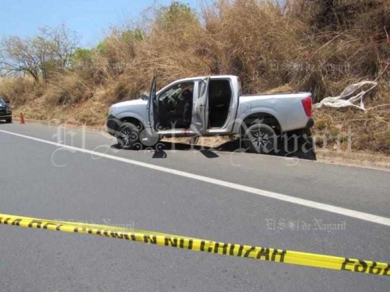 Acribillan a persona sobre Autopista Tepic-Mazatlán