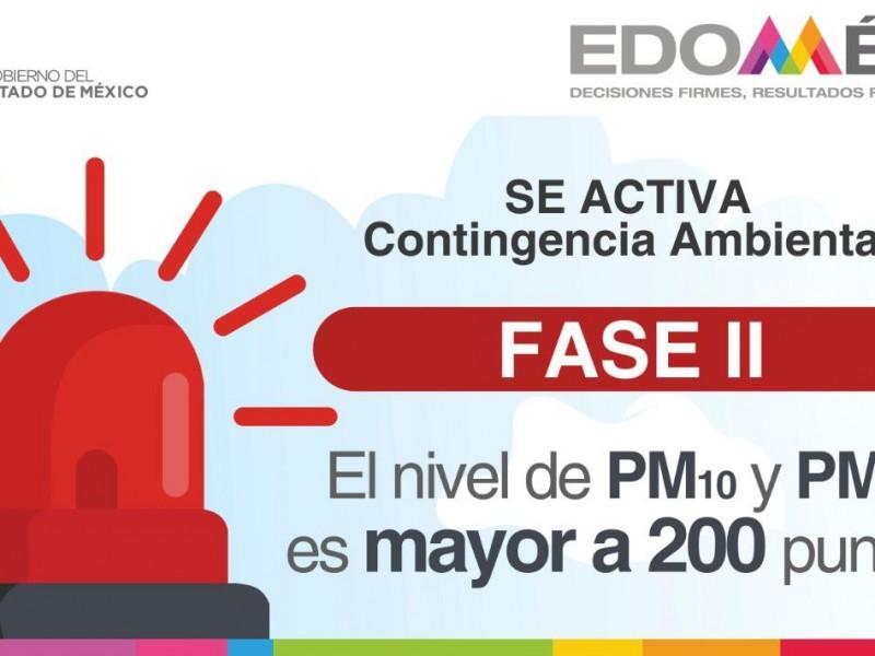 Activan contingencia ambiental en el Valle de Toluca