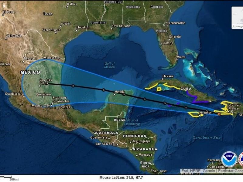 Activan Alerta Gris en Veracruz ante aproximación de Grace