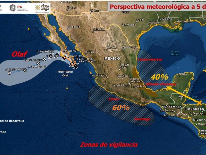 Activan Alerta Gris en Veracruz por lluvias