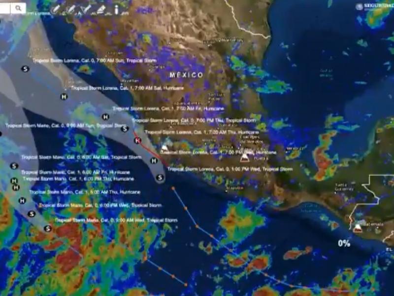Activan alerta naranja por tormenta tropical