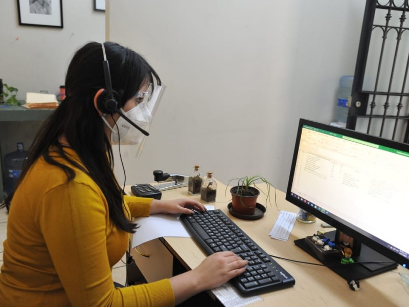 Activan centro de atención telefónica para pacientes COVID en Jacona