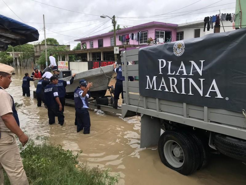 Activan plan Marina en Álamo