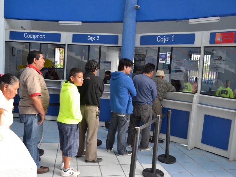 Activan programa de pago anticipado en SAPAS.