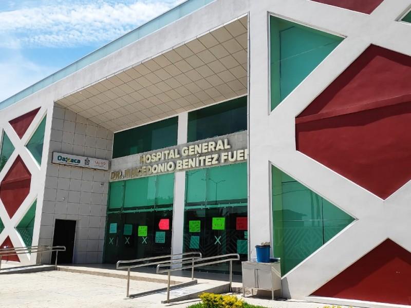 Activan protocolo sanitario en Hospital General de Juchitán