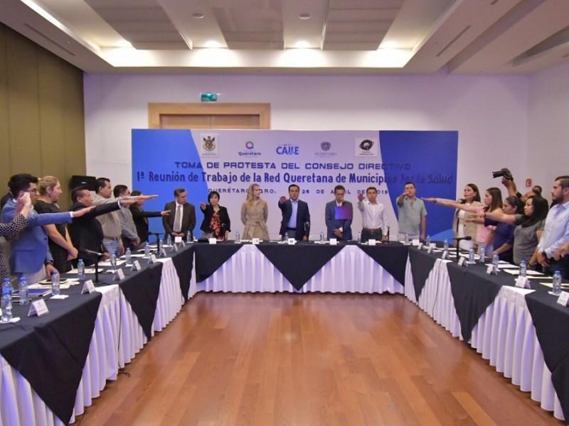 Activan red de municipios por la salud