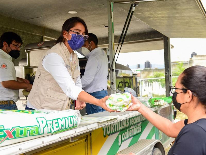 Activan Tortimóvil en Xalapa regalarán tortillas a damnificados por Grace