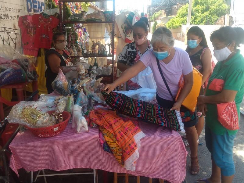 Actividad comercial decembrina se reducirá un 50% en Tehuantepec
