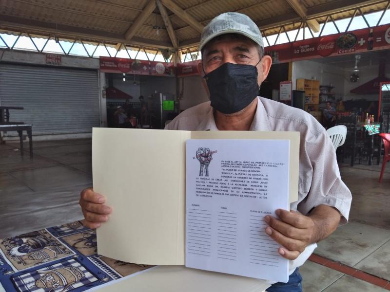 Activista navojoense recibe amenazas por buscar juicio penal a