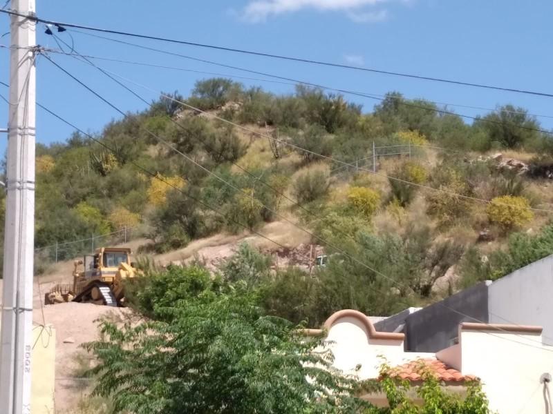 Activistas ambientales exigen se cancele obra en el Cerro Jonhson