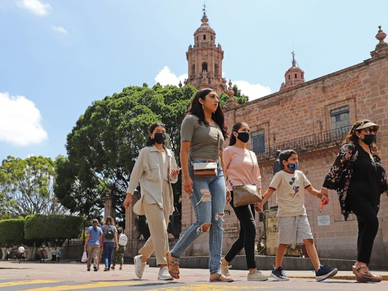 Activos más de mil casos de COVID-19 en Morelia
