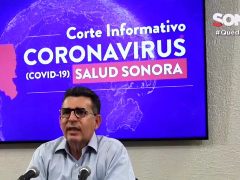 Actualiza cifras de Covid 19 secretaría de salud en Sonora