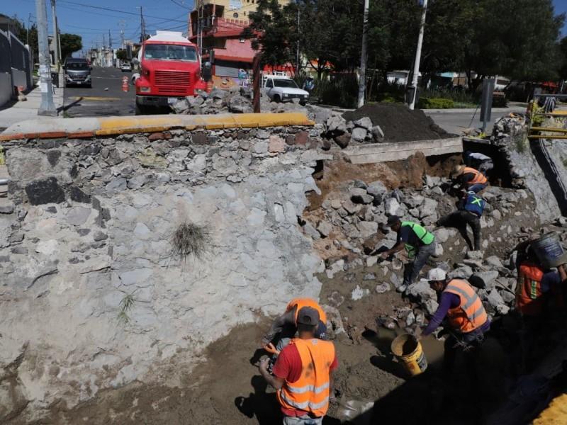 Actualizan reporte de daños tras lluvias en la capital queretana