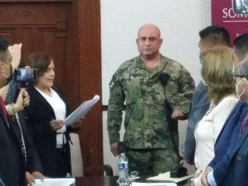Acuerdan Alcaldesa y Regidores sostener a Mando Militar en Guaymas