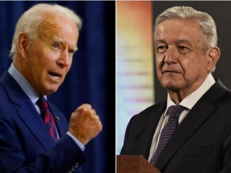 Acuerdan AMLO y Biden construir relación sólida