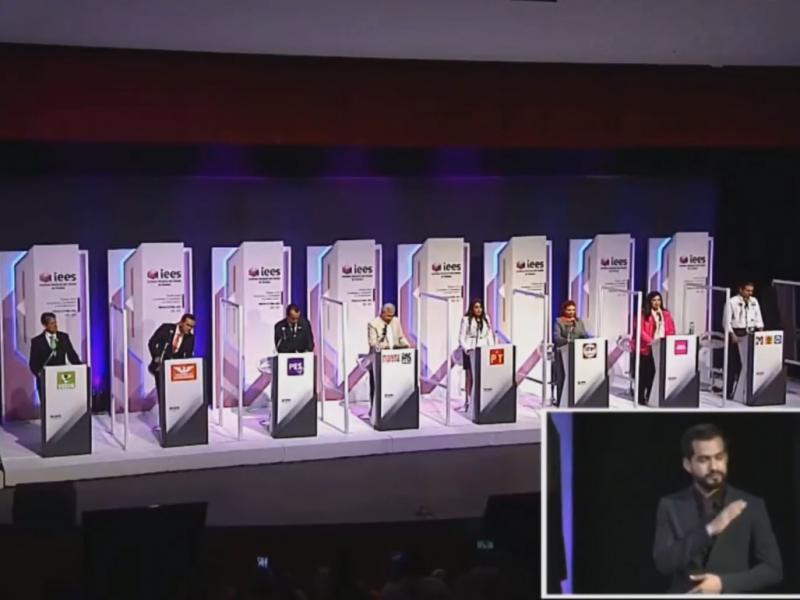 Acuerdan fecha para el segundo debate entre candidaturas a gobernador