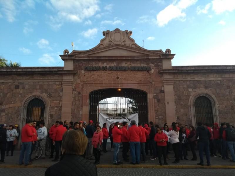 Acuerdan pago a trabajadores del Ayuntamiento de Guadalupe