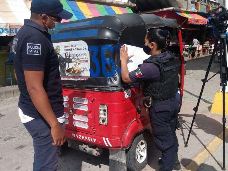 Acuerdan registro de unidades independientes en San Blas Atempa