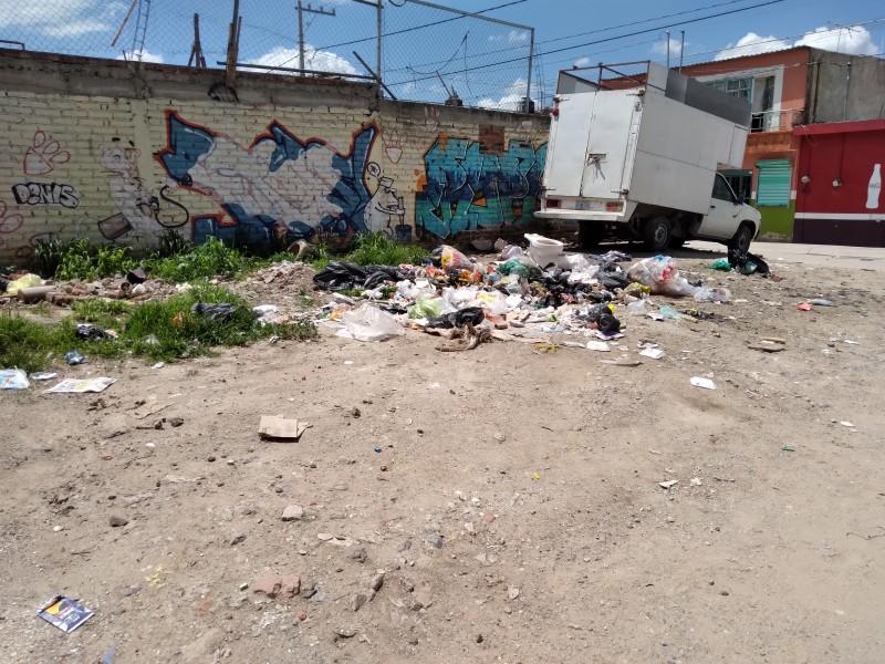 Acumulación de basura afecta principalmente a niños