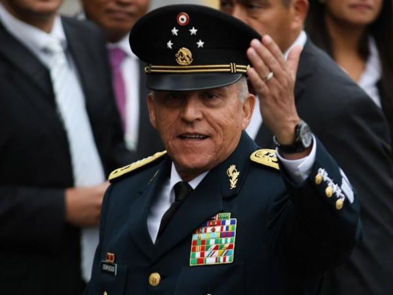 Acusa EEUU a México de violar tratado en caso Cienfuegos