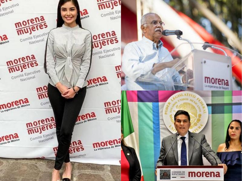 Acusan a Geraldine, Navarro-Quintero y Pavel de colgarse de Morena