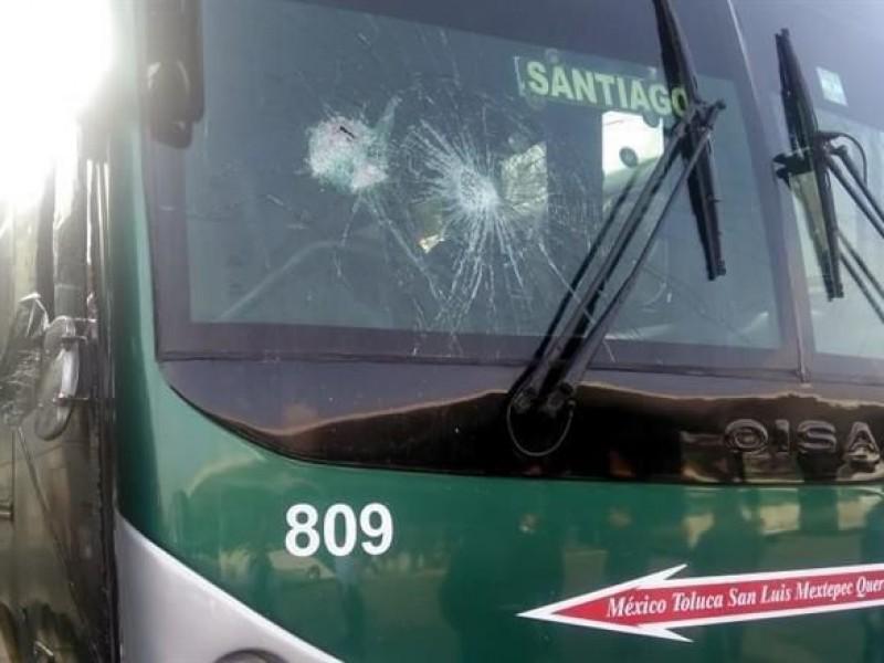 Acusan a normalistas de robar autobuses