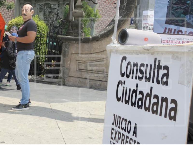 Acusan al INE de no promover consulta ciudadana
