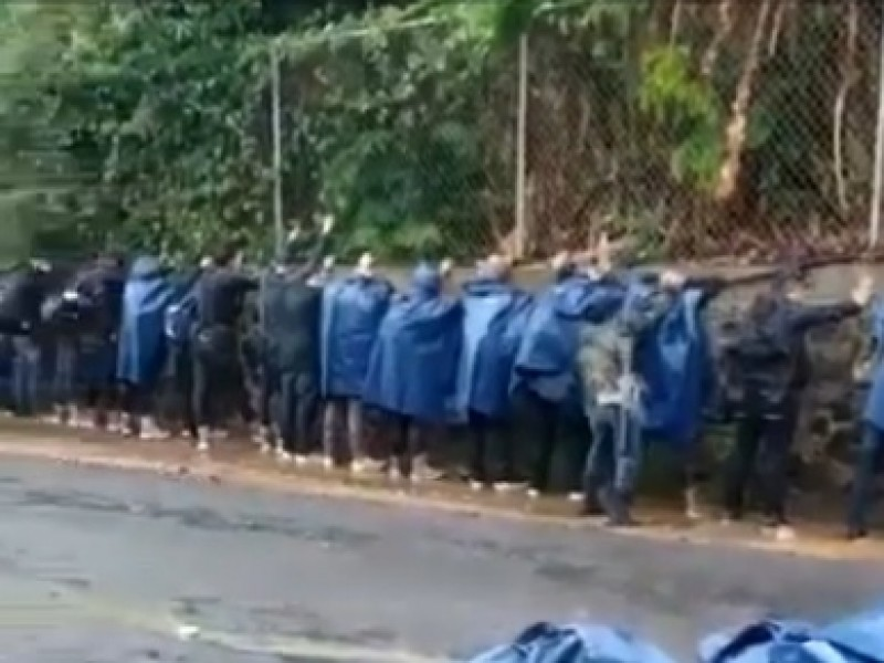 Acusan de aliarse con CJNG a seguridad comunitaria de Tancítaro