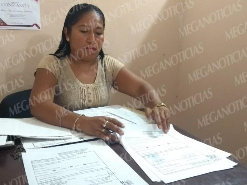 Acusan falta de pagos en Ayuntamiento de Huilotepec