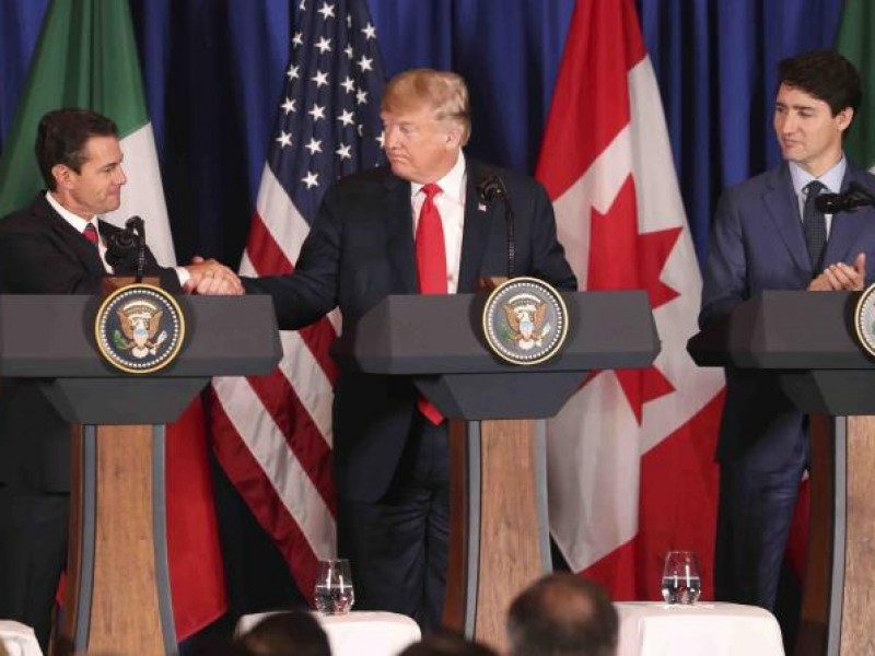 Adiós TLCAN, México, EU y Canadá firman T-MEC
