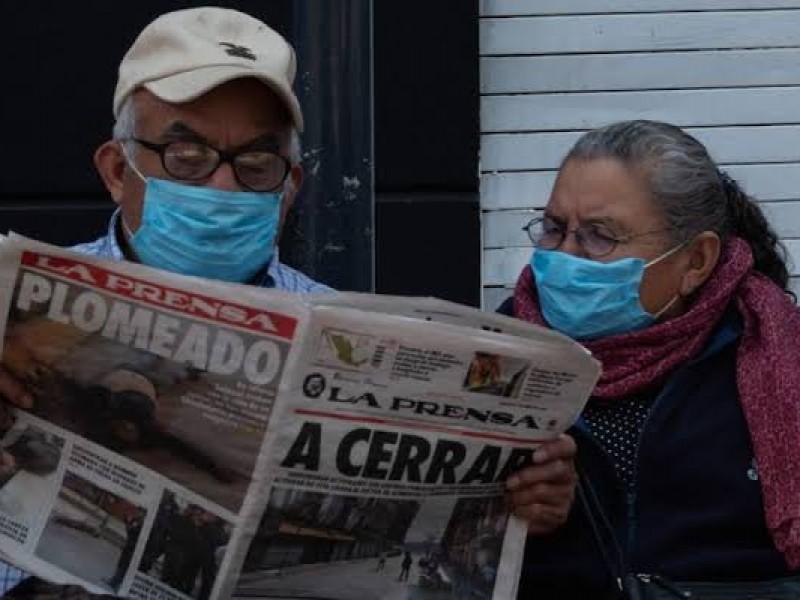 Adultos Mayores, los más afectados por pandemia.