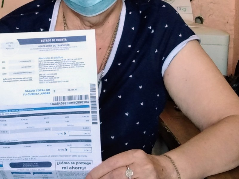 Adultos mayores sin acceso a pensión, ni atención médica