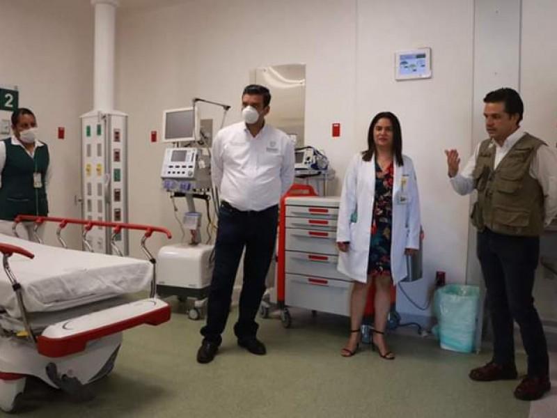 Advierte Gobernador: no habrá equipo suficiente para pacientes de COVID-19