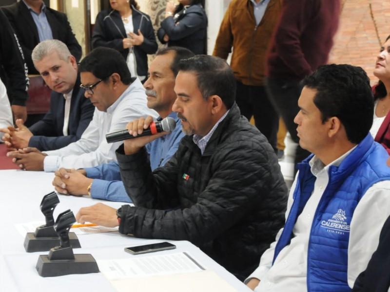 Advierten alcaldes movilización masiva en exigencia de recursos