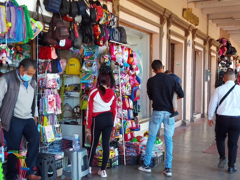 Advierten comerciantes establecidos manifestación este jueves por nuevo cierre