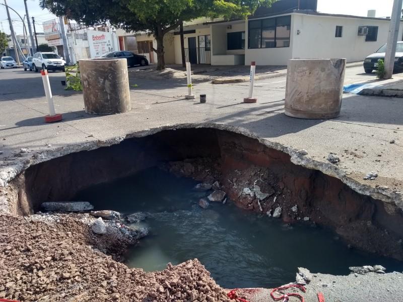 Advierten de amenaza de nuevas inundaciones en Los Mochis