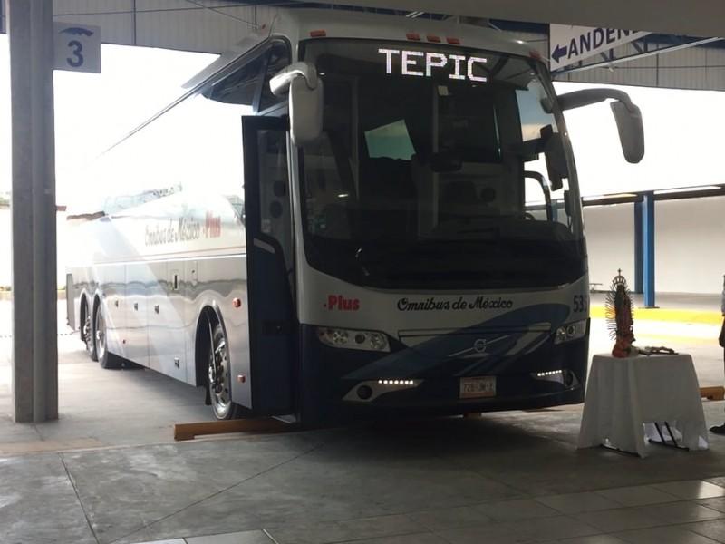 Advierten infracciones a autobuses viajeros en paradas clandestinas