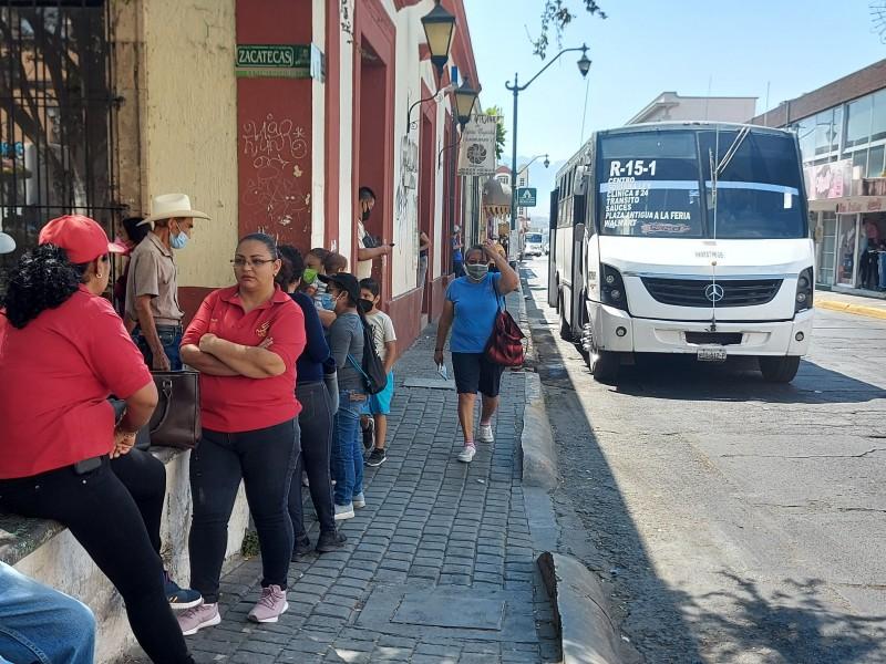Advierten permisionarios aumento a transporte público hasta los 10 pesos