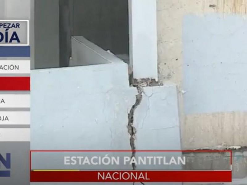 Advierten sobre mal estado de estación Pantitlán