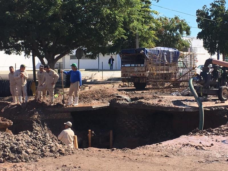 Advierten suspensión de agua en Los Mochis para mañana