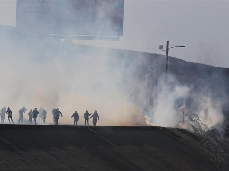 Advierten usar nuevamente gas lacrimógeno