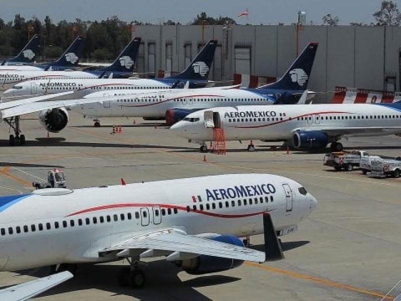 Aeroméxico logra acuerdo con ASPA, reducirán sueldos
